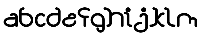 STAR CONSTELLATION Bold Font LOWERCASE