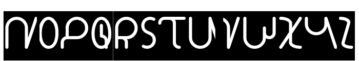 STAR CONSTELLATION-Inverse Font UPPERCASE