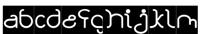 STAR CONSTELLATION-Inverse Font LOWERCASE