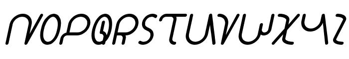 STAR CONSTELLATION Italic Font UPPERCASE