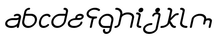 STAR CONSTELLATION Italic Font LOWERCASE