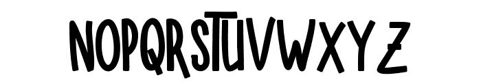 SUGAR VANILA BALCK Black Font LOWERCASE