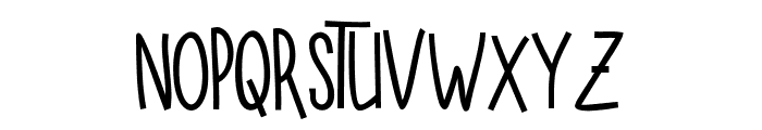 SUGAR VANILA BOLD Bold Font UPPERCASE