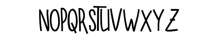 SUGAR VANILA BOLD Bold Font LOWERCASE