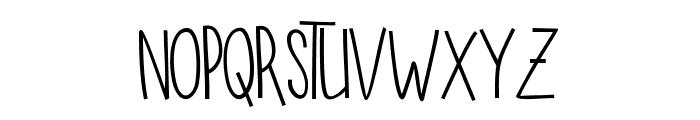SUGAR VANILA REGULAR Font LOWERCASE