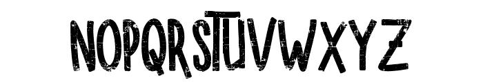 SUGAR VANILA ROUGH Font LOWERCASE