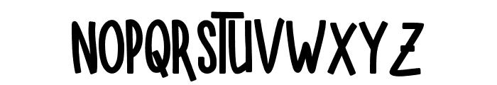 SUGARVANILABALCK-Black Font LOWERCASE