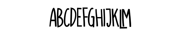 SUGARVANILABOLD-Bold Font UPPERCASE