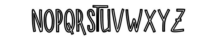 SUGARVANILAOUTLINE Font UPPERCASE