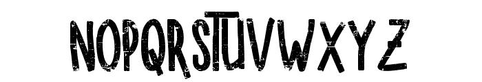 SUGARVANILAROUGH Font UPPERCASE