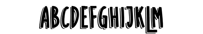 SUGARVANILASHADOW Font UPPERCASE