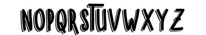 SUGARVANILASHADOW Font LOWERCASE