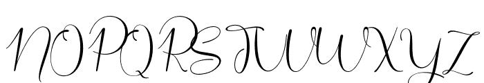 Safella Font UPPERCASE