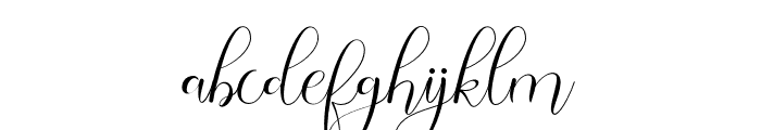 Safella Font LOWERCASE