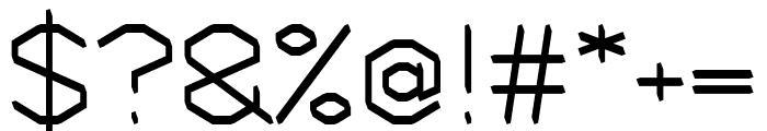 Sage regular Font OTHER CHARS