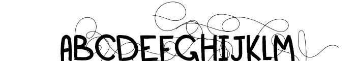 Sailor Font UPPERCASE