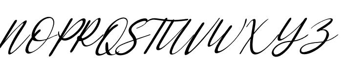 Saint Marseille Italic Font UPPERCASE