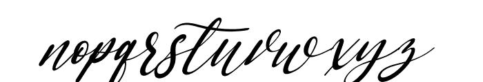 Saint Marseille Italic Font LOWERCASE