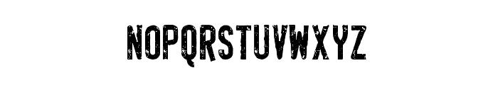 SaintMarcheRough Font LOWERCASE