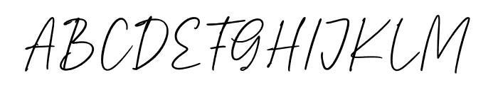 Saintley Font UPPERCASE
