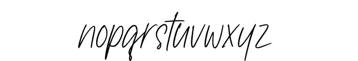 Saintley Font LOWERCASE