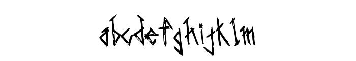 Saints-Bold Font LOWERCASE