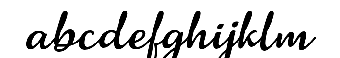 Salanino Italic Font LOWERCASE