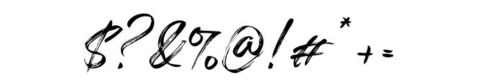 Salazur Font OTHER CHARS