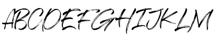 Salazur Font UPPERCASE