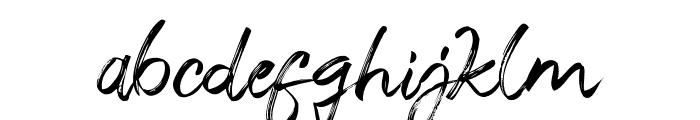Salazur Font LOWERCASE