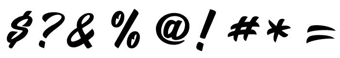 Salikin Font OTHER CHARS