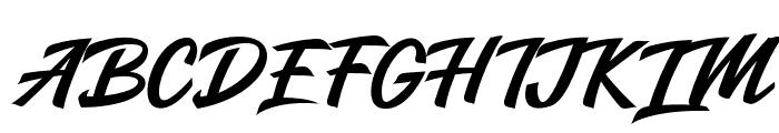 Salikin Font UPPERCASE