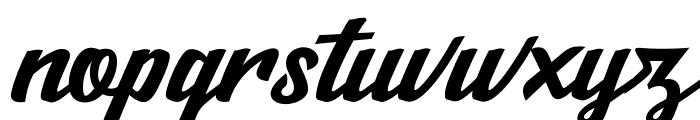 Salikin Font LOWERCASE