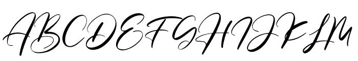 Salloum Golden Font UPPERCASE