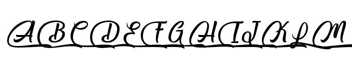 Salmon White Font UPPERCASE