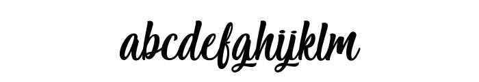 Salmon White Font LOWERCASE