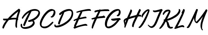 SalteryAlternate Font UPPERCASE