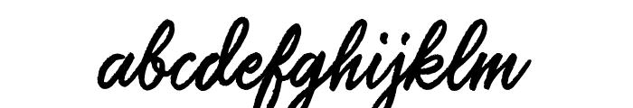 SalteryAlternateRough Font LOWERCASE