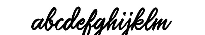 SalteryAlternate Font LOWERCASE