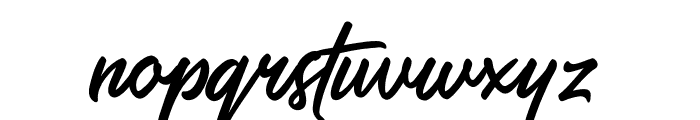SalteryRegular Font LOWERCASE