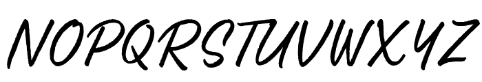SalteryRough Font UPPERCASE