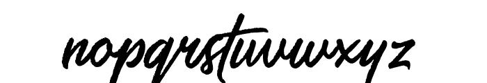 SalteryRough Font LOWERCASE