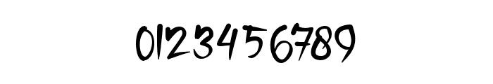 SameriBrush Font OTHER CHARS