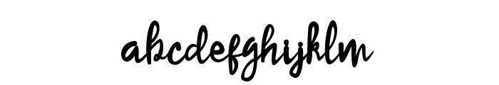 SameriBrush Font LOWERCASE