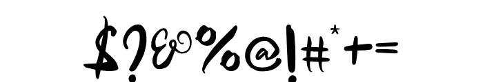 Samurai Warrior Font OTHER CHARS
