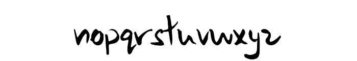 Samurai Warrior Font LOWERCASE