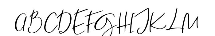 Sanctuary Regular Font UPPERCASE
