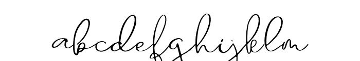Sanctuary Regular Font LOWERCASE