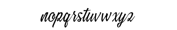 Sandara Font LOWERCASE
