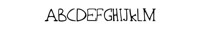 Sandbanks Font UPPERCASE